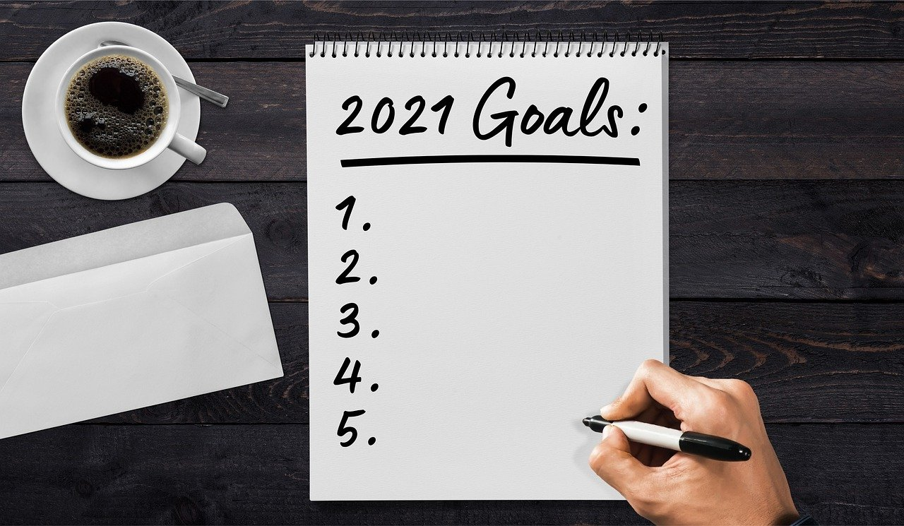 Goals for 2021 and how to stick to them